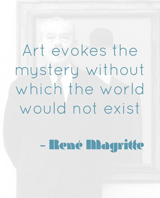 "René Magritte (November 21, 1898 – August 15, 1967) was a Belgian Surrealist artist. He became well known for creating a number of witty and thought-provoking images. Often depicting ordinary objects in an unusual context, his work is known for challenging observers' preconditioned perceptions of reality. His imagery has influenced Pop art, minimalist and conceptual art.⁠ ⁠ Thanks to his ""sound knowledge of how to present objects in a manner both suggestive and questioning"", his works have been frequently adapted or plagiarized in advertisements, posters, book covers and the like.⁠ ⁠ ⁠ ⁠ ⁠ ⁠ #artist #quote #quoteoftheday #artquote #artinspiration #quotestoliveby #magritte #surrealism #renemagritte #surreal #arthistory"