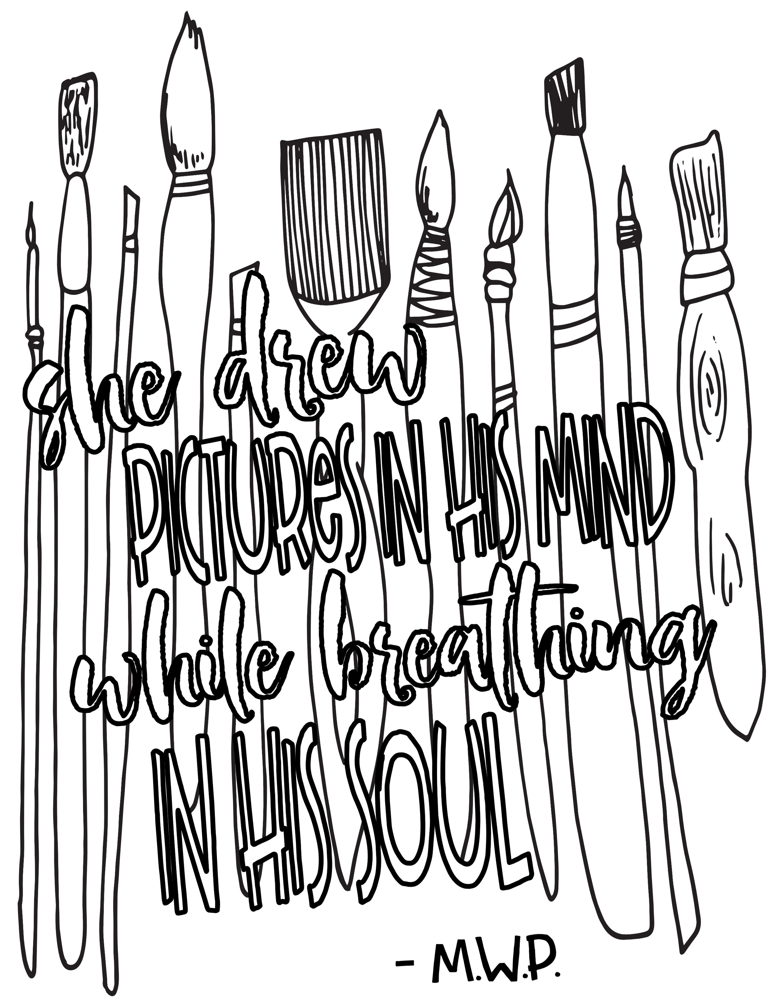 Free Printable Quotes Coloring Pages