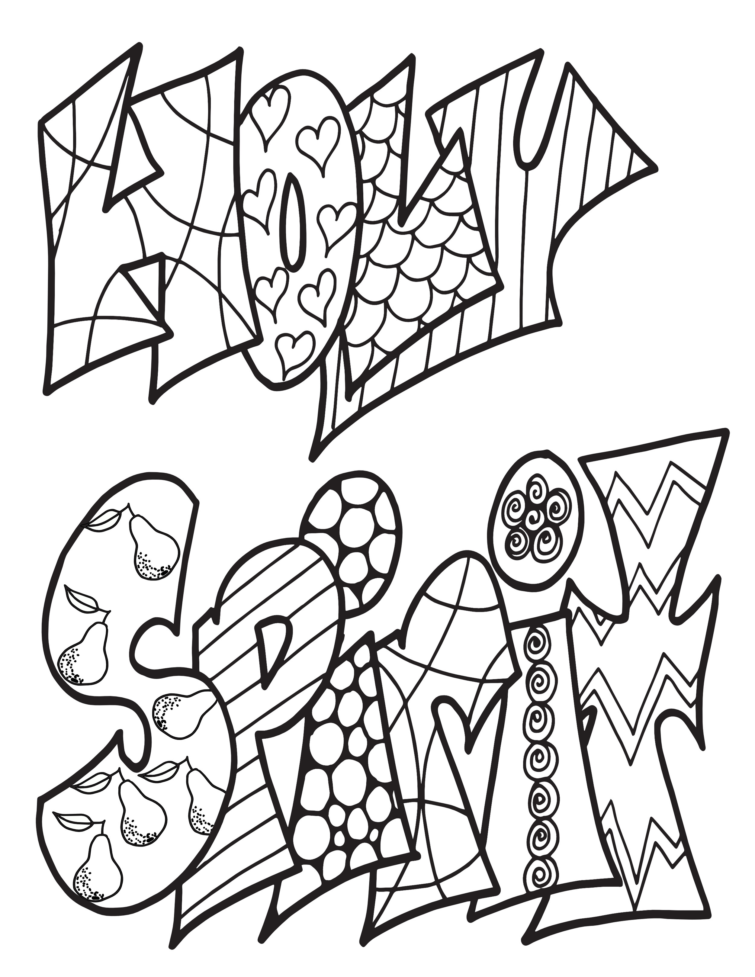 Holy Spirit Classic Doodle Free Coloring Page Stevie Doodles Free Printable Coloring Pages