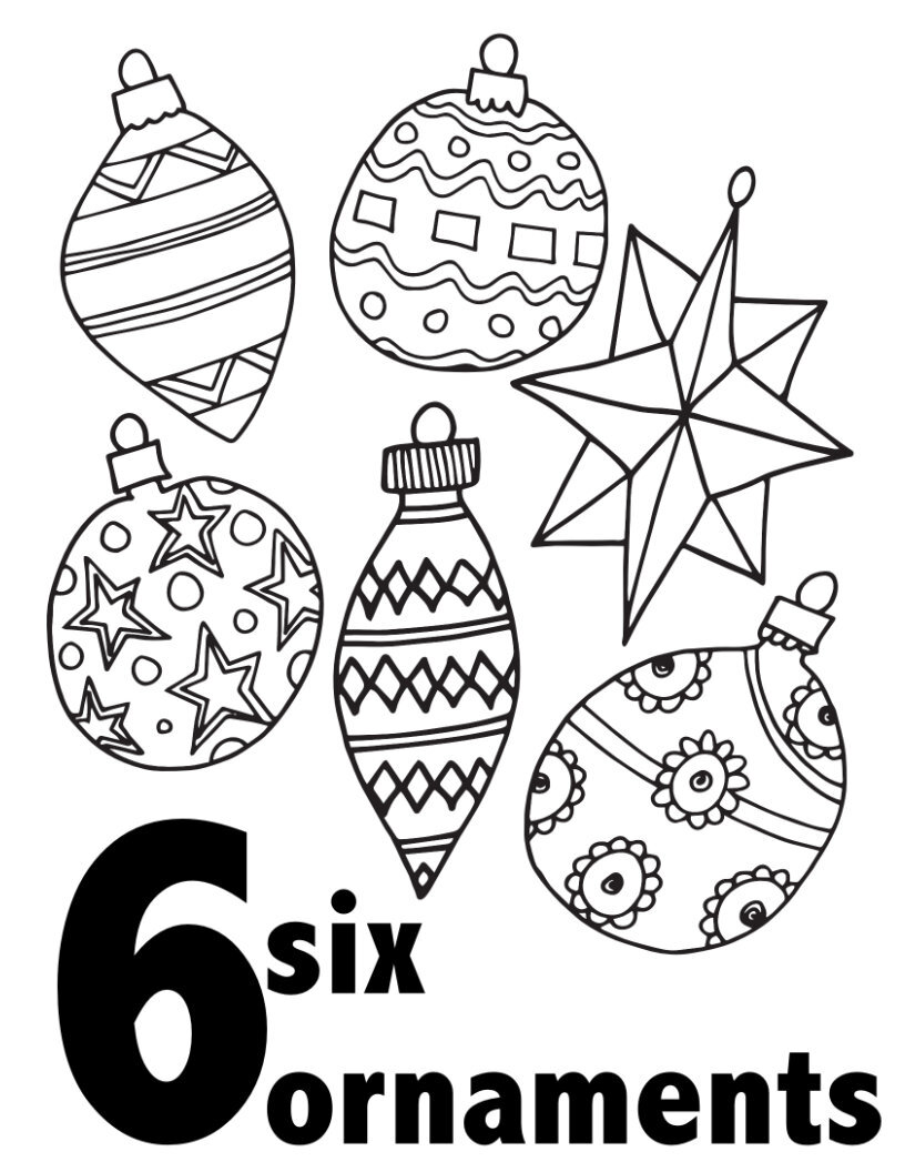 Christmas Tree Colour by Number | Christmas tree coloring page, Christmas  coloring pages, Christmas color by number | 1056x816