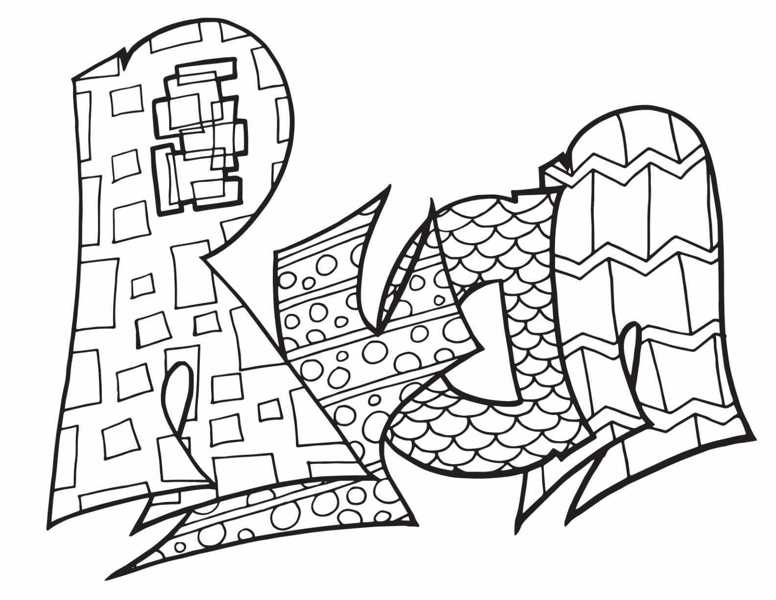 Ryan Free Coloring Page Stevie Doodles Free Printable Coloring Pages