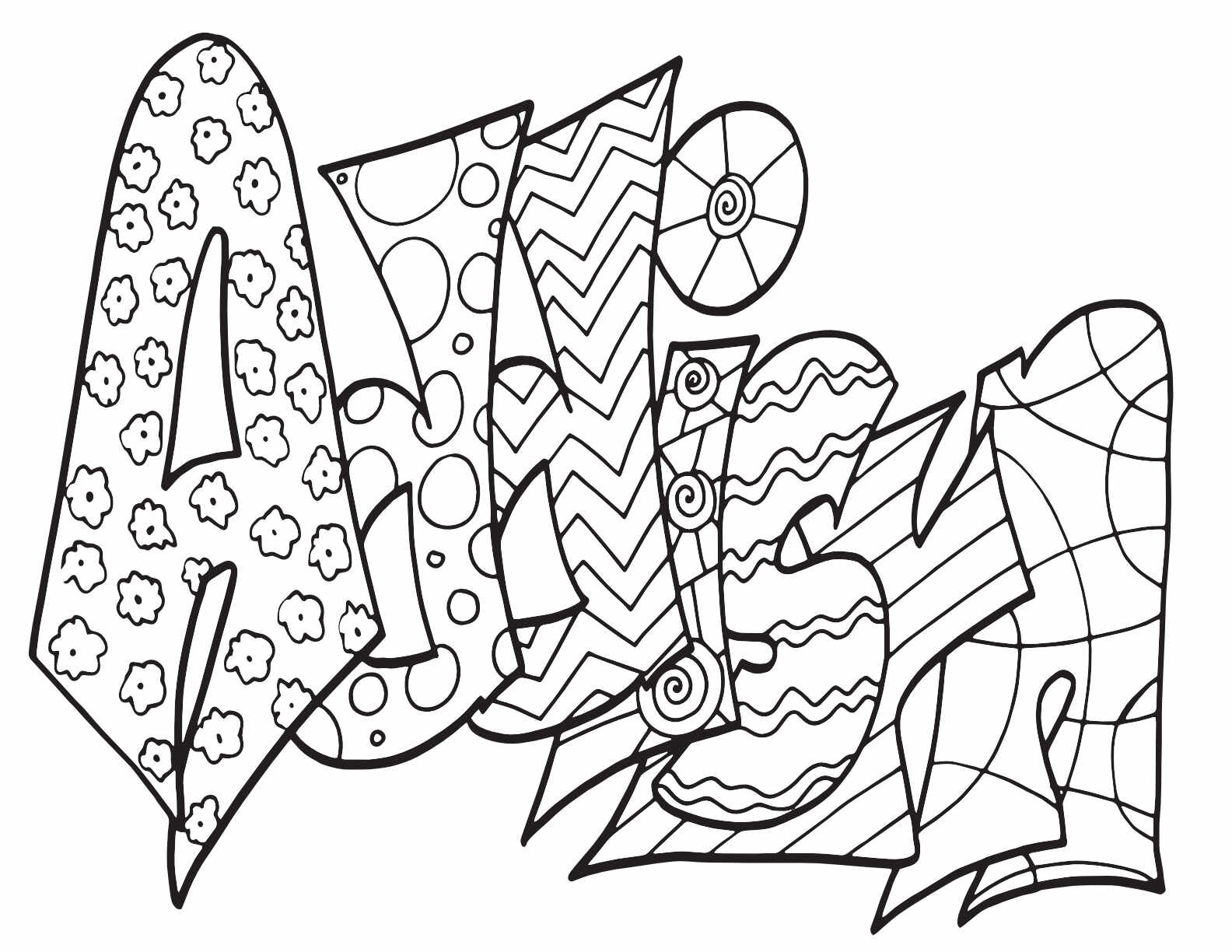 Addisyn Free Coloring Page Stevie Doodles Free Printable Coloring Pages