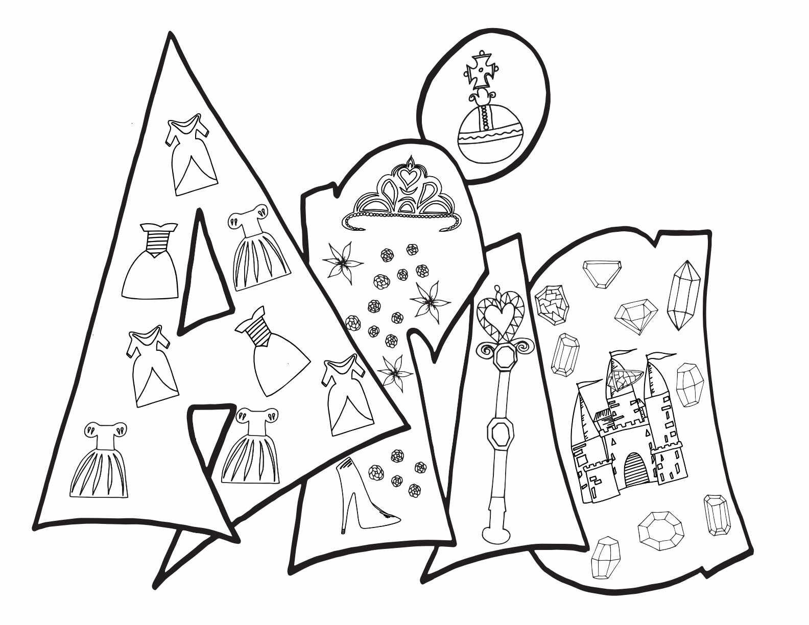ARIA - Free Printable Princess Coloring Page — Stevie Doodles
