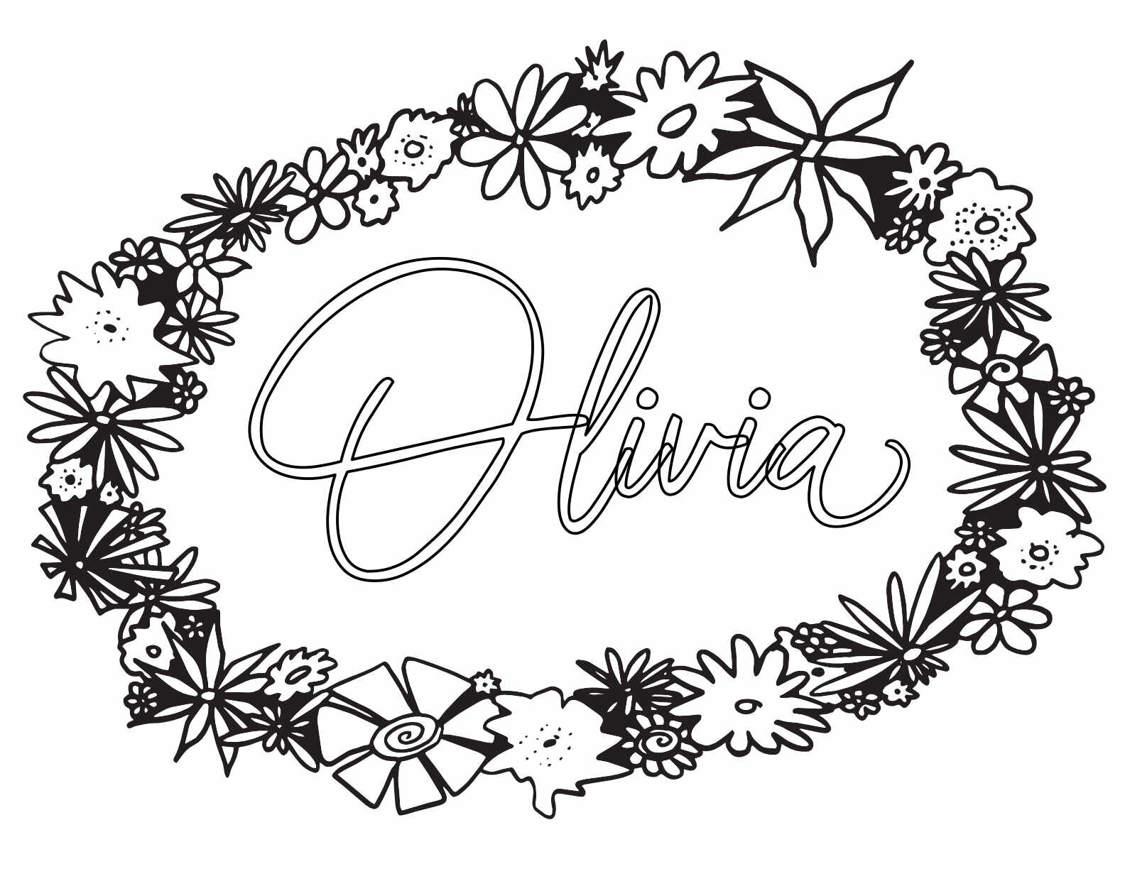 10 OLIVIA Coloring Pages - Free Printables — Stevie Doodles Free Printable Coloring  Pages