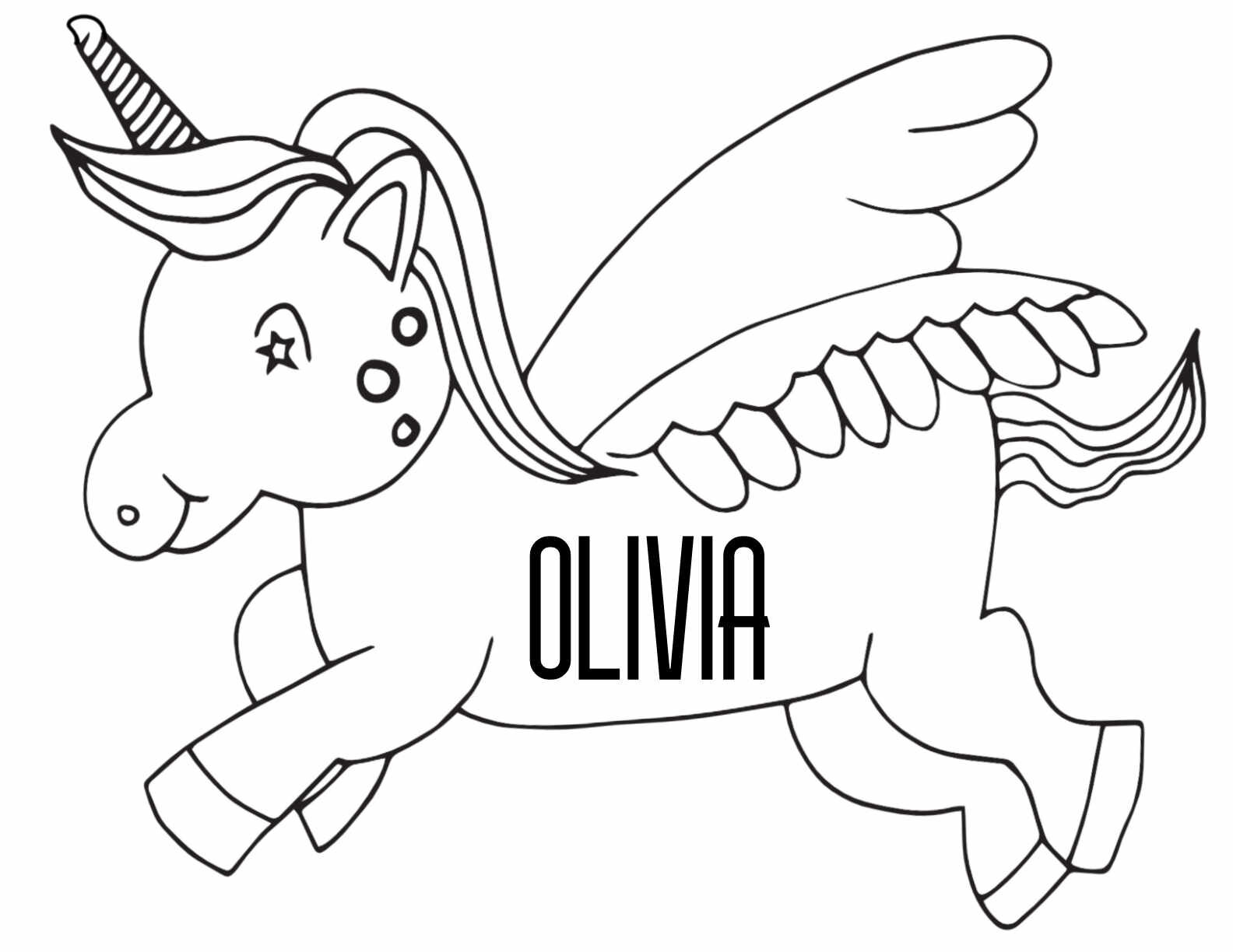 12 OLIVIA Coloring Pages - Free Printables — Stevie Doodles Free