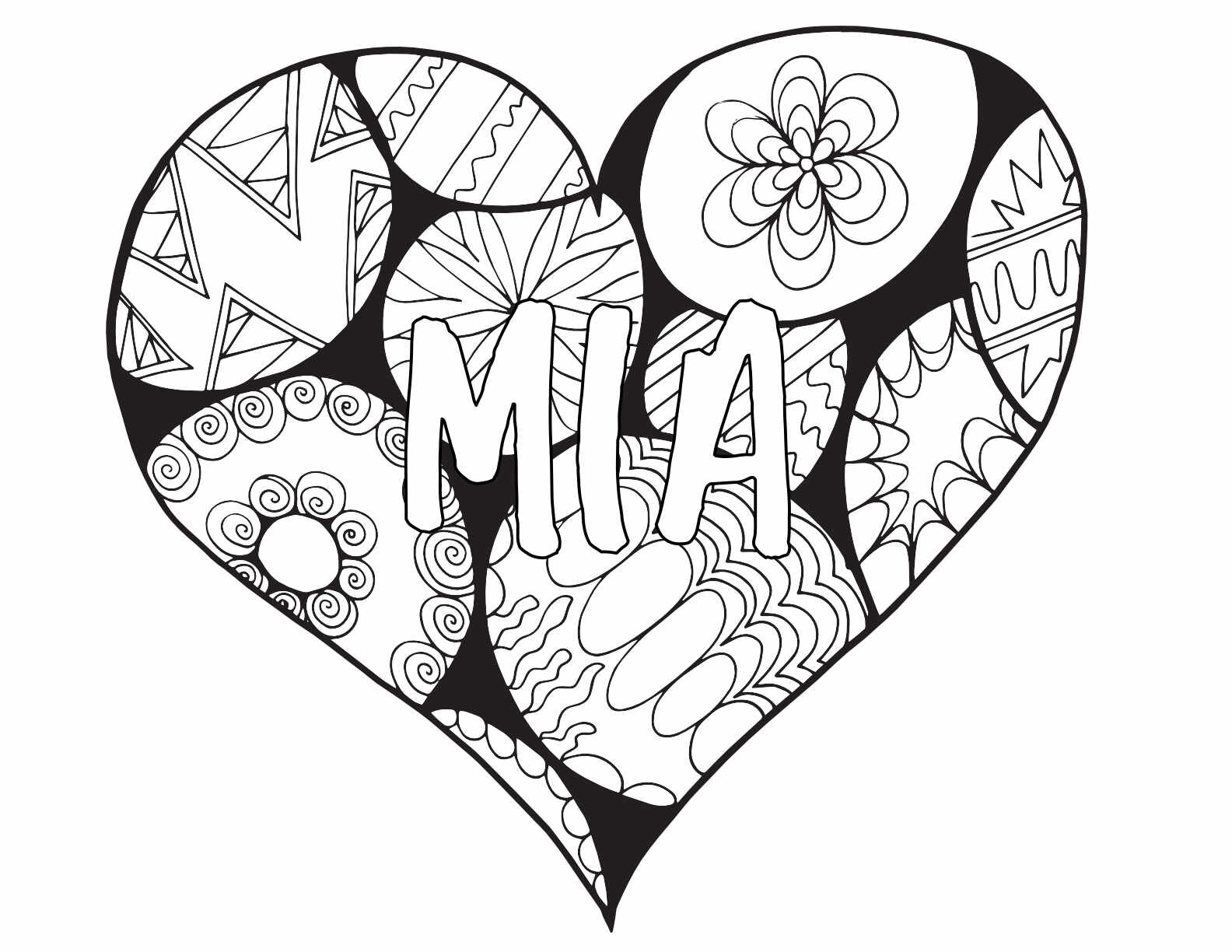 10 MIA Coloring Pages - Free Printables — Stevie Doodles