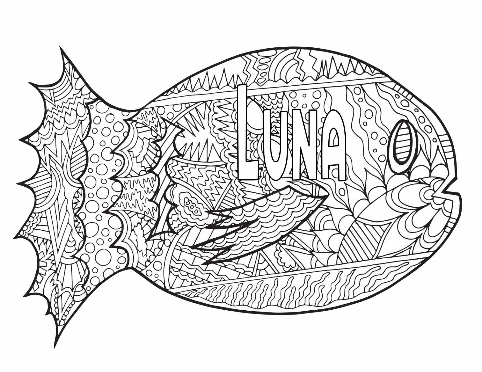 10 Luna Coloring Pages Free Printables Stevie Doodles Free Printable Coloring Pages