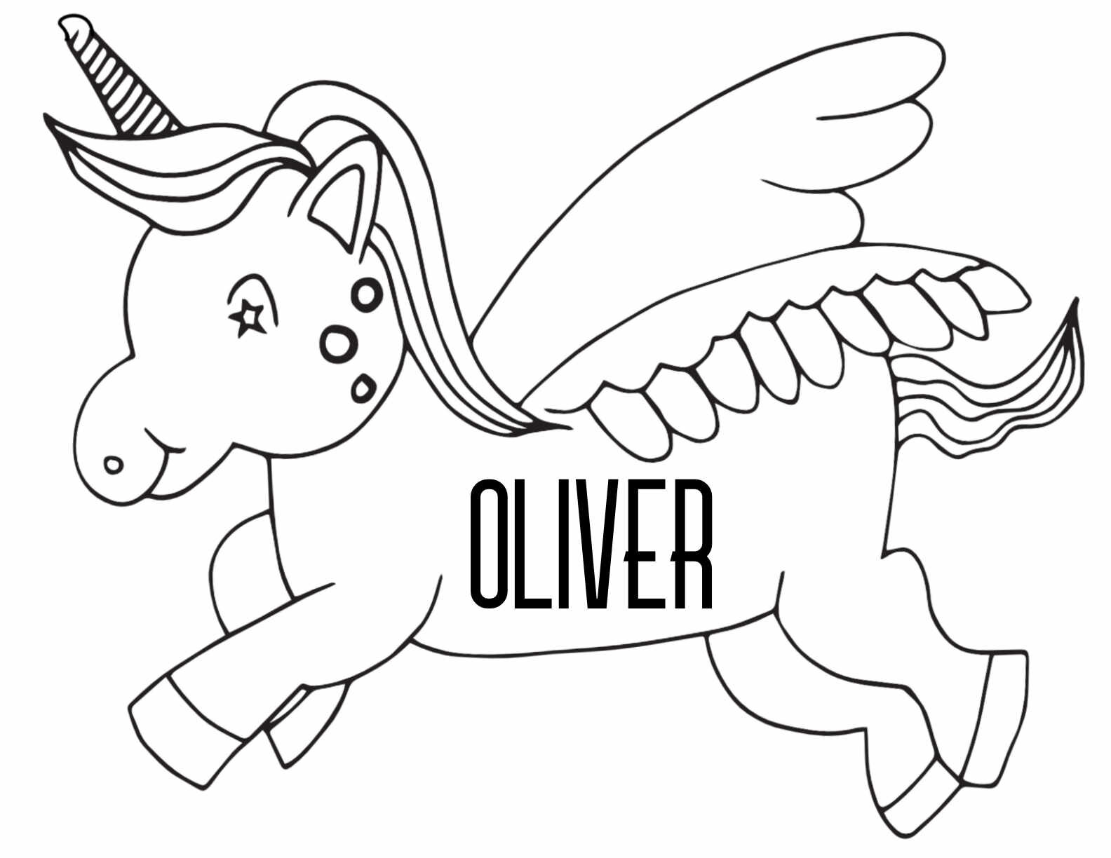 Oliver Coloring Page | H & M Coloring Pages | 773x1000