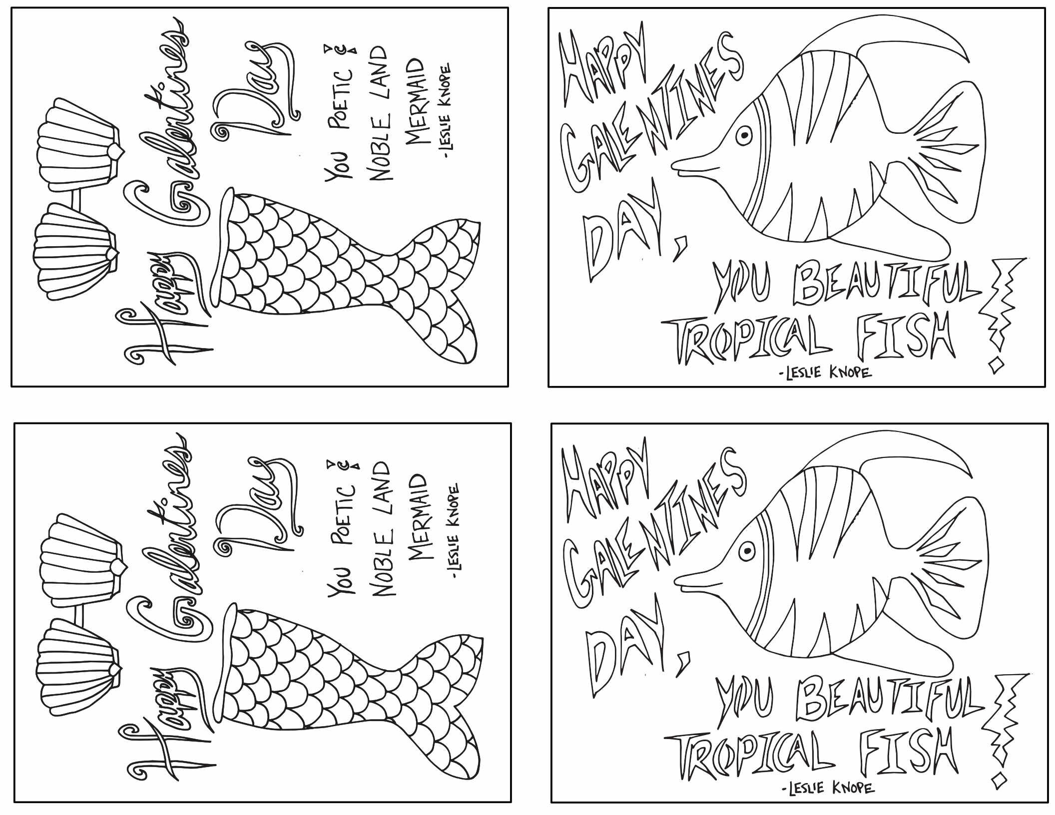 - Galentines Day Printable Colorable Cards - Free Printable Valentines Day  Coloring Page — Stevie Doodles