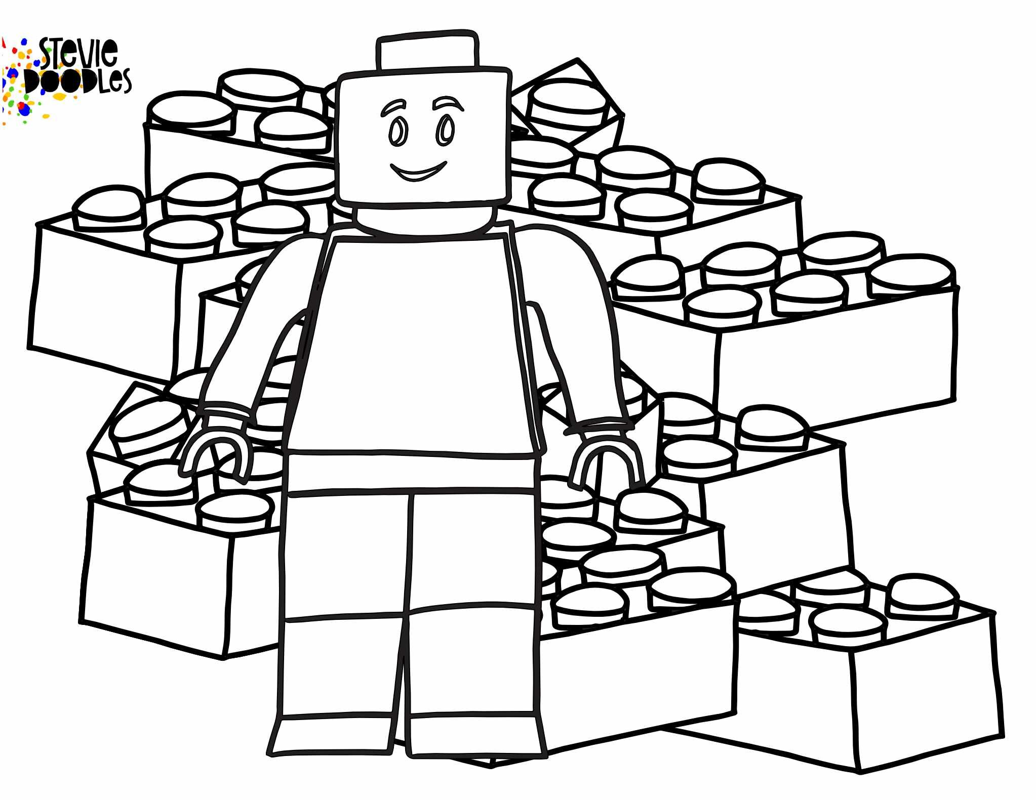 LEGO Gifted By God Coloring Pages FREE! — Stevie Doodles