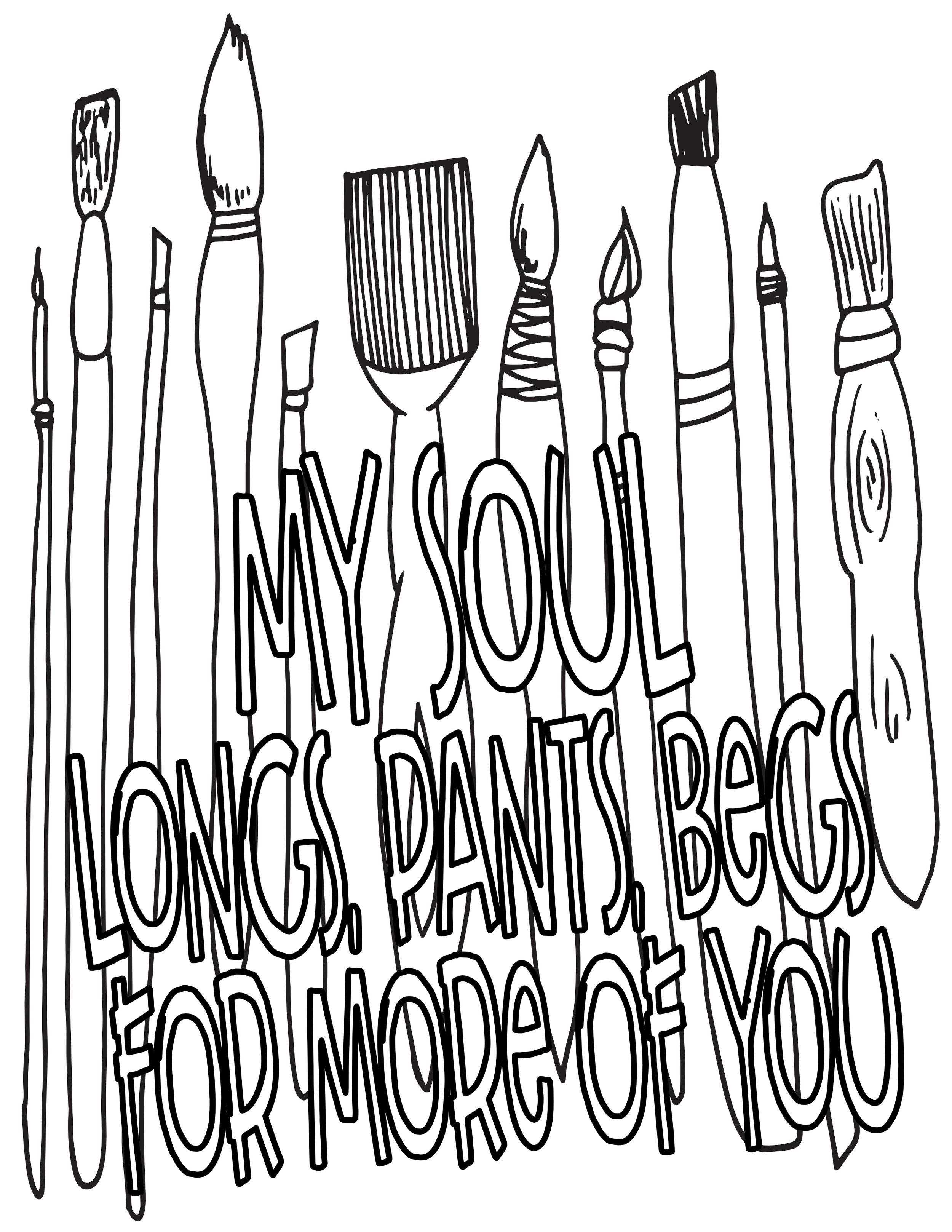 brushes my soul longs for you.stevie doodles.jpg