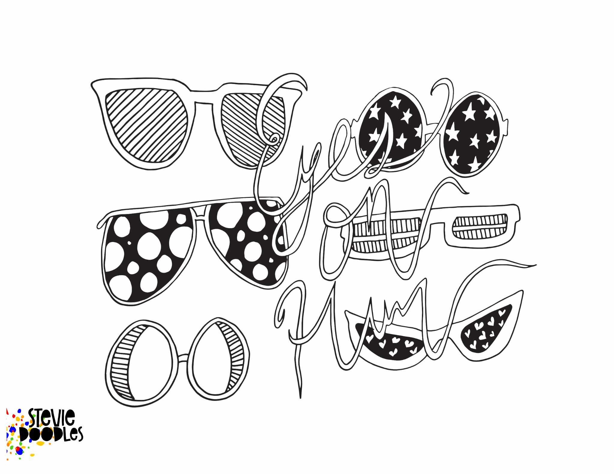 Eyes On Him Free Coloring Page Sample From My Anxious Christian Digital Coloring Book Stevie Doodles Free Printable Coloring Pages