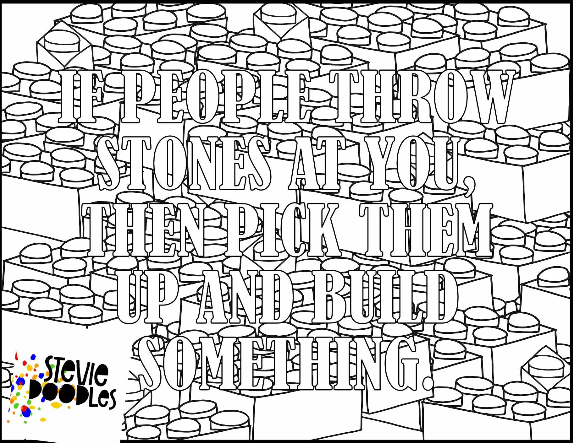 - Quotes — Free Coloring Pages — Stevie Doodles