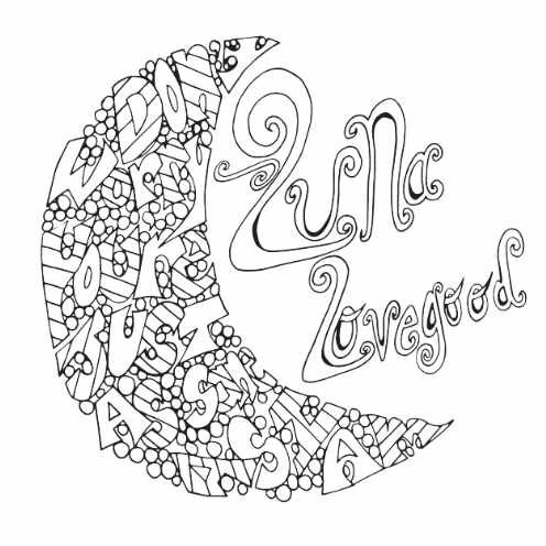 Luna Lovegood Quote Free Coloring Page