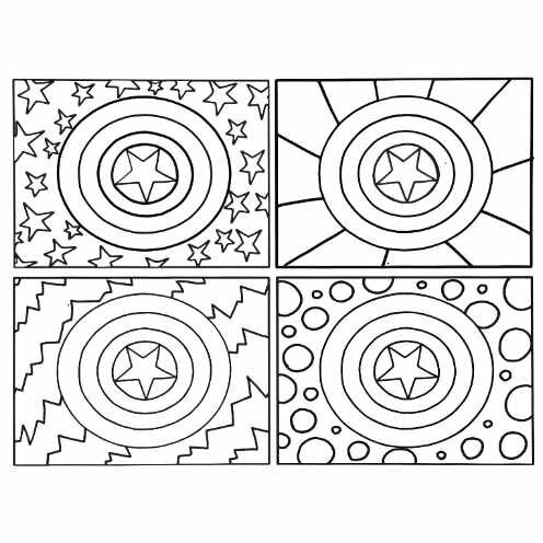 mjolnir free printable coloring pages inspired by thor s hammer stevie doodles mjolnir free printable coloring pages