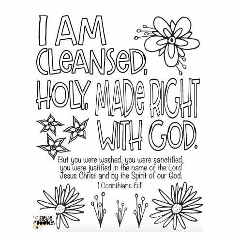 Christian Coloring Pages Stevie Doodles Free Printable Coloring Pages