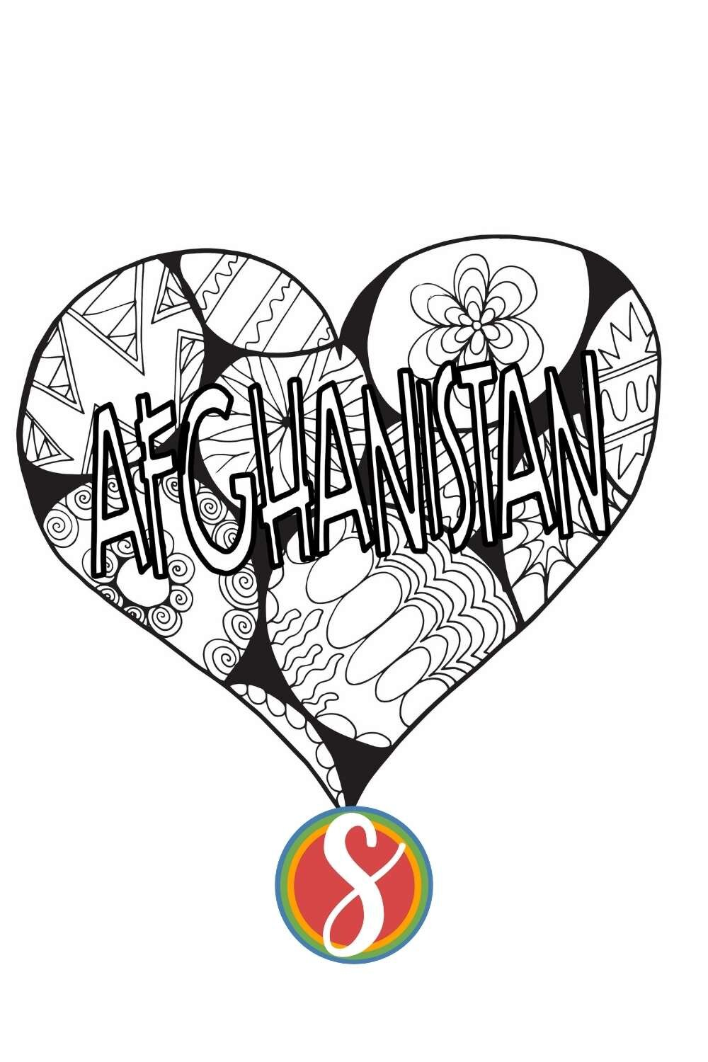 Praying for Afghanistan - Stevie Doodles profits for August and September 2021 will be split between two organizations doing good work in Afghanistan