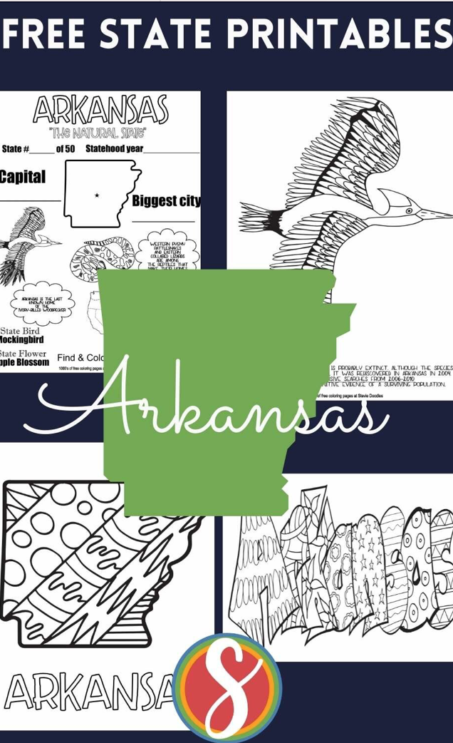 Free coloring sheets about the United States - 200 printable coloring pages from Stevie Doodles
