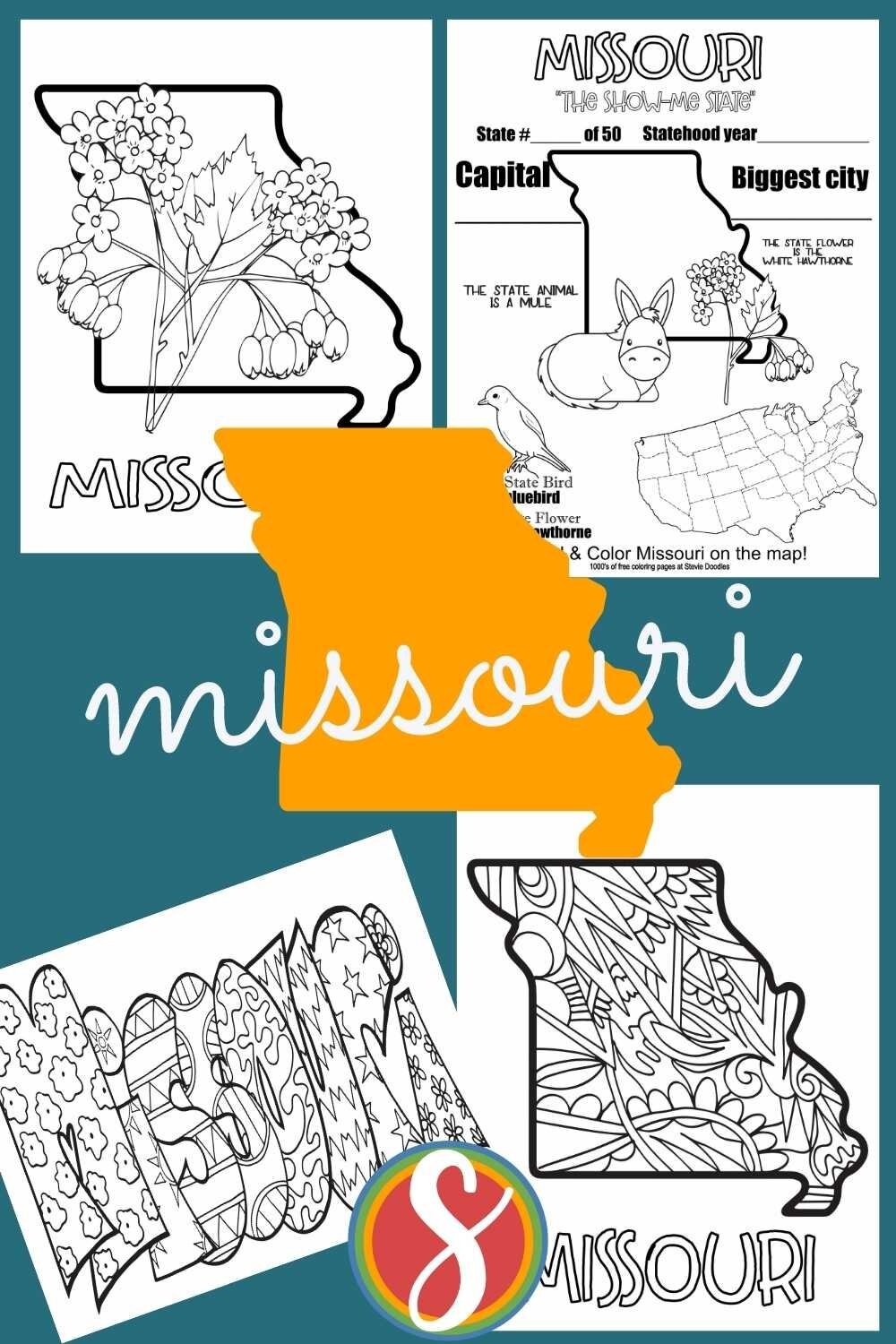 A whole bunch of free printable activity sheets about all of the states in the U.S.