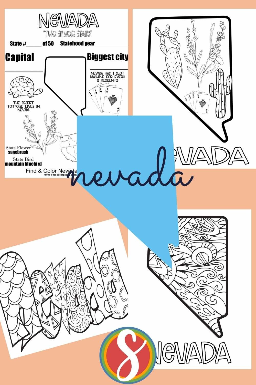 Free printable United States geography activity coloring pages to print and color free today