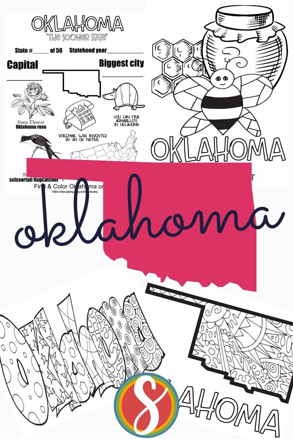 Free! Geography pages for your elementary activities - free to print and color from Stevie Doodles