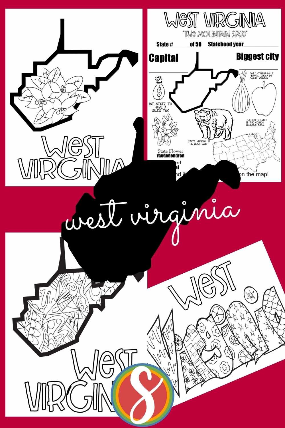 Grab your favorite state's coloring pages to print and color