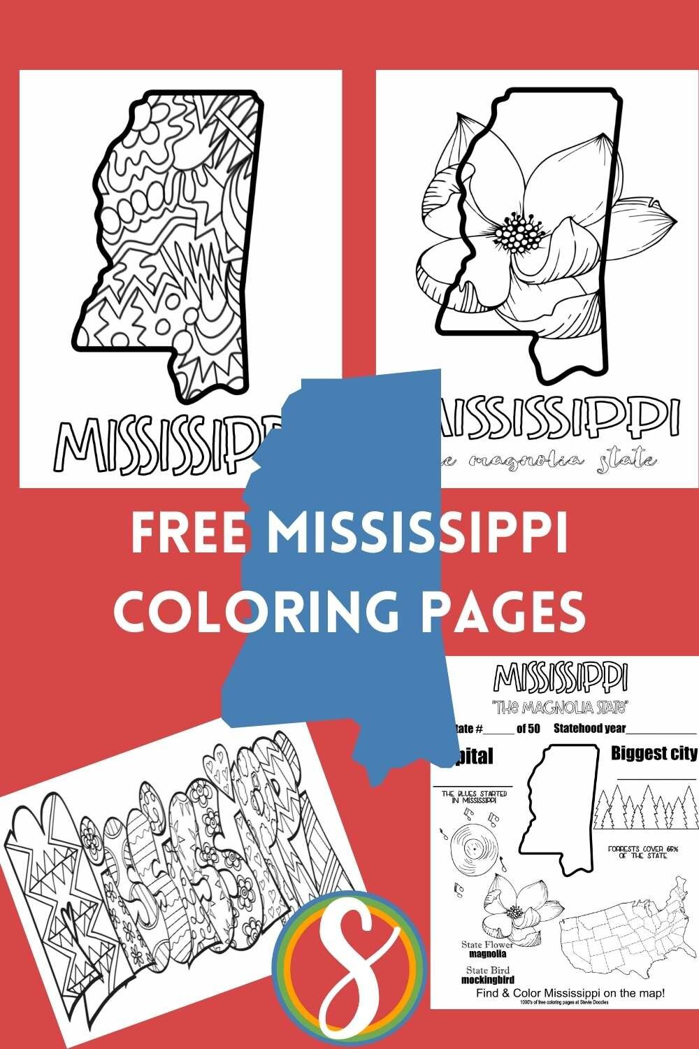 us geography states coloring pages free printable