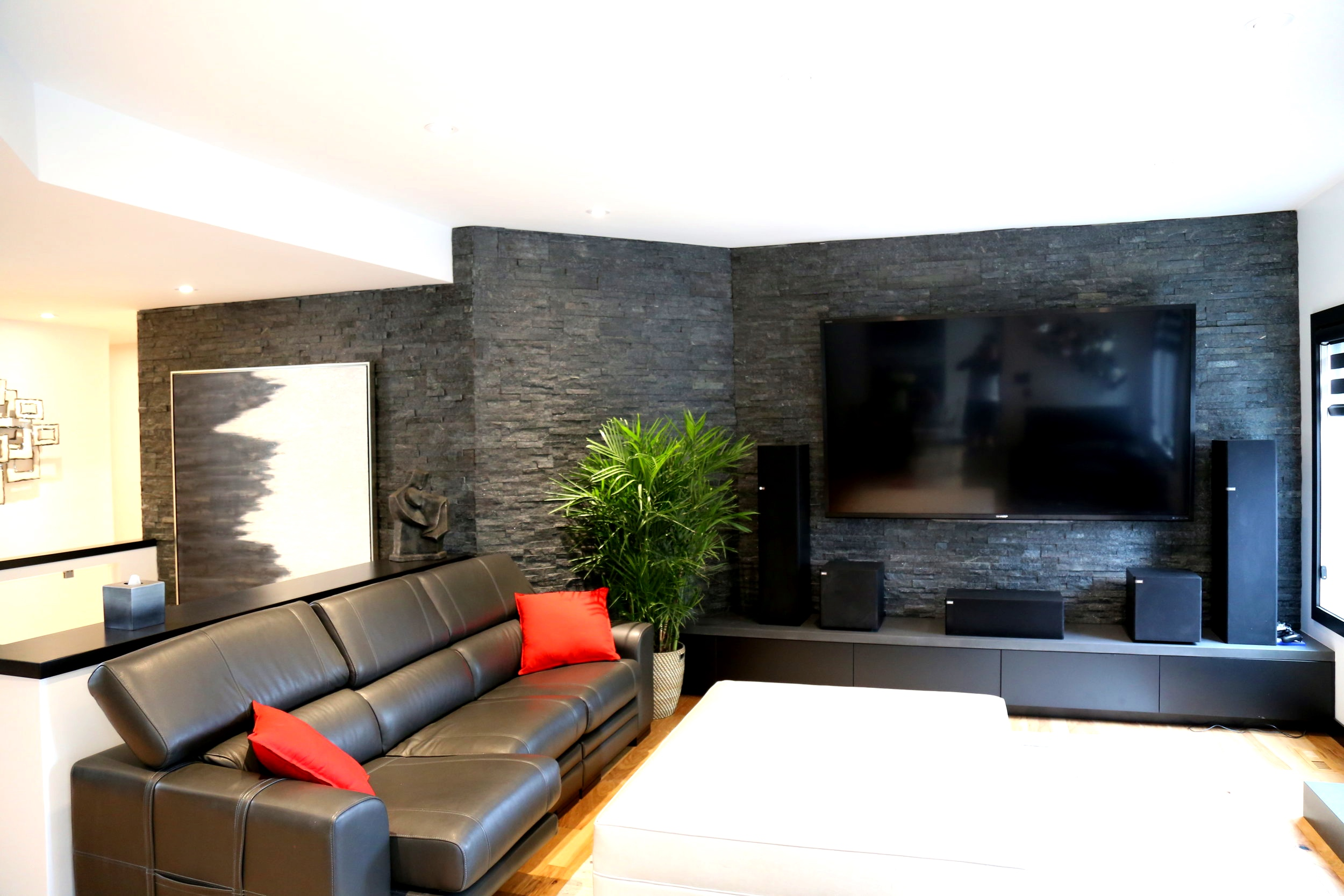 Quartz Stone - Feature Wall