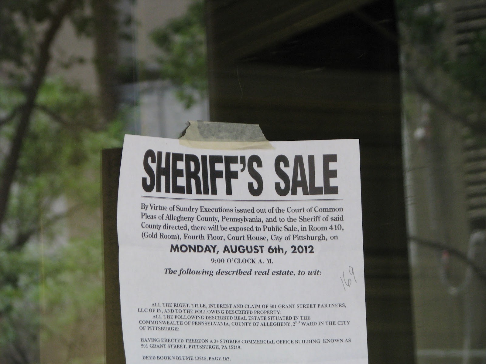 Stopping a Sheriff Sale