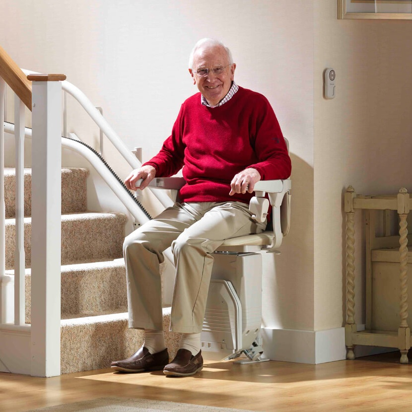 Stairlifts - Were proud to work with one of the leading UK manufacturers, Brooks, to ensure you receive a first-class service.