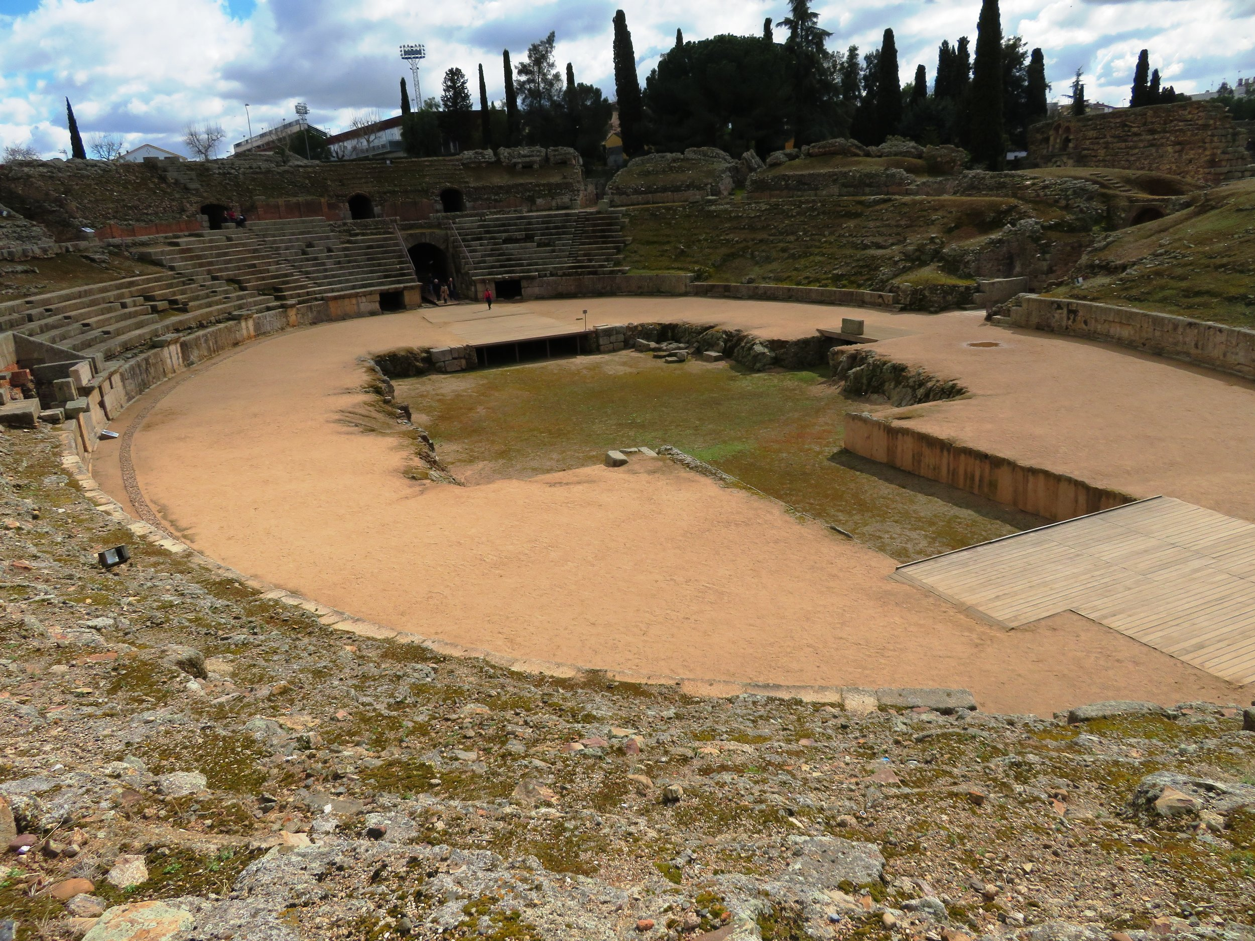 Amfitheater in Merida