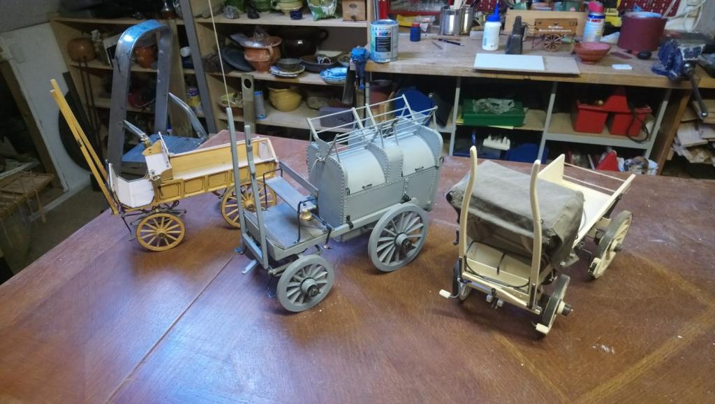 Schaalmodellen van Woerdense Wagens