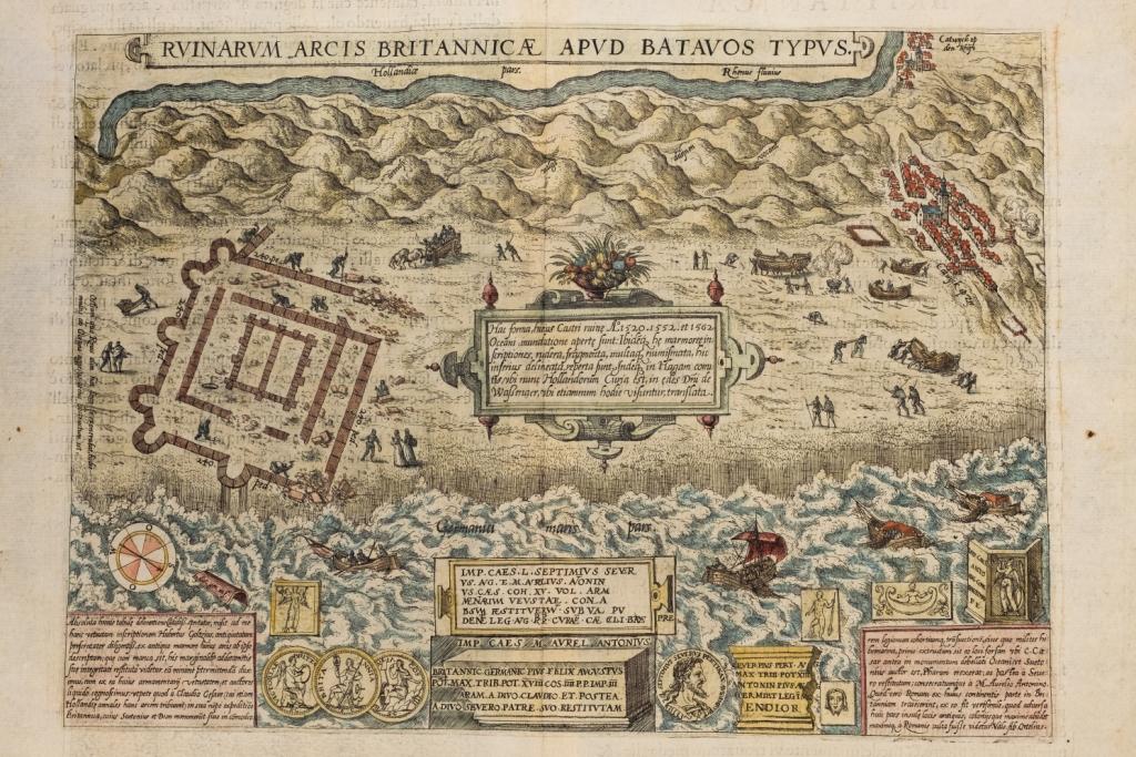 Kaart Ortelius 1581  (foto: Tom Buijtendorp)