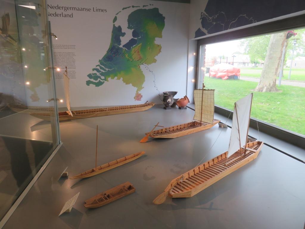Schaalmodellen van de Zwammerdamschepen