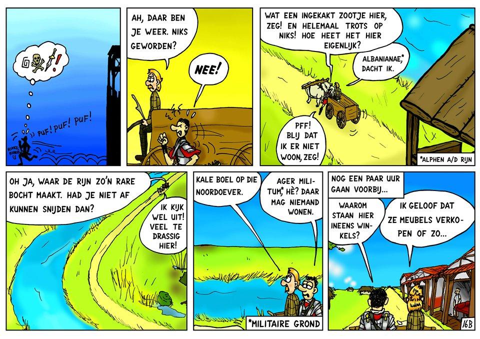 Inside joke: verwijzing naar de Rijneke boulevard