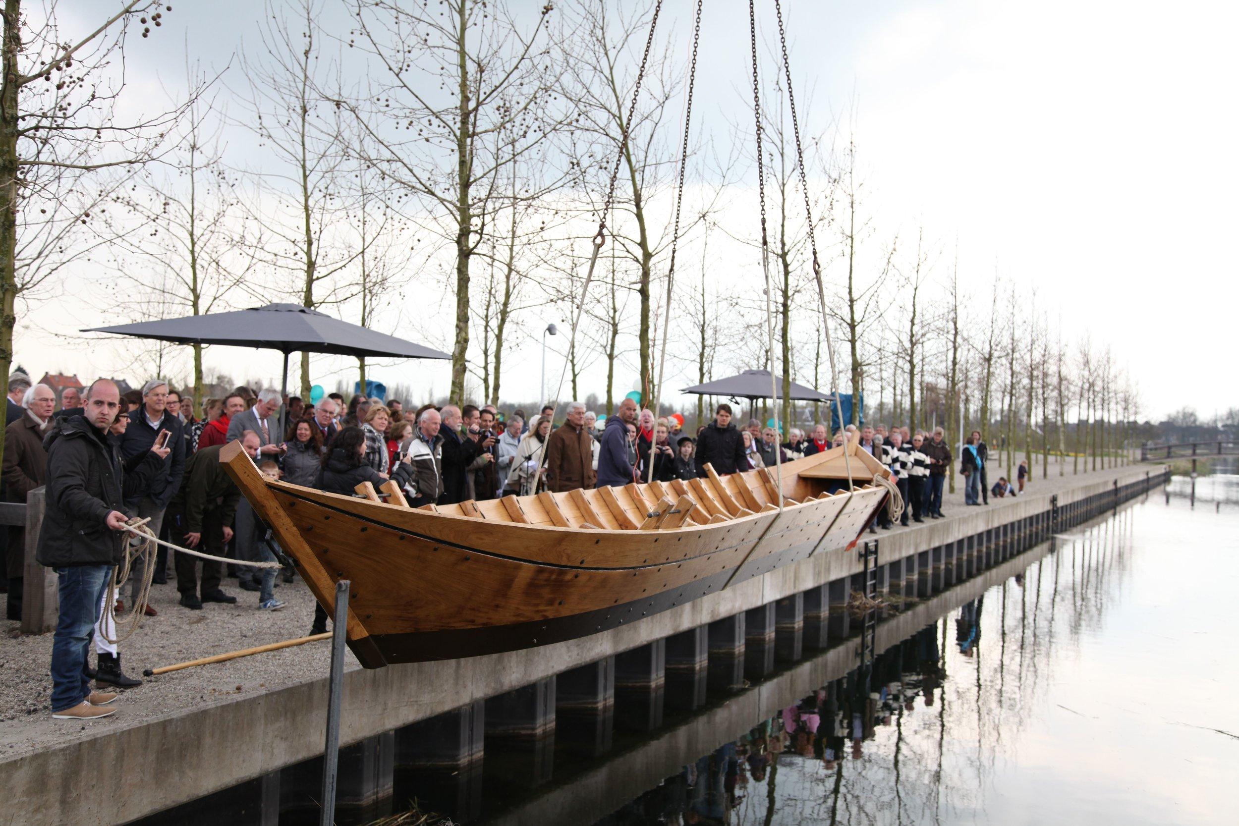2012 Fuducia te water, foto: Henk Vlot