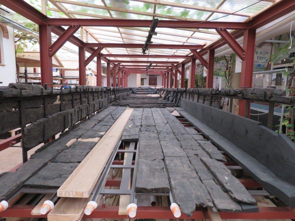 Zwammerdam 2 is voor driekwart gerestaureerd