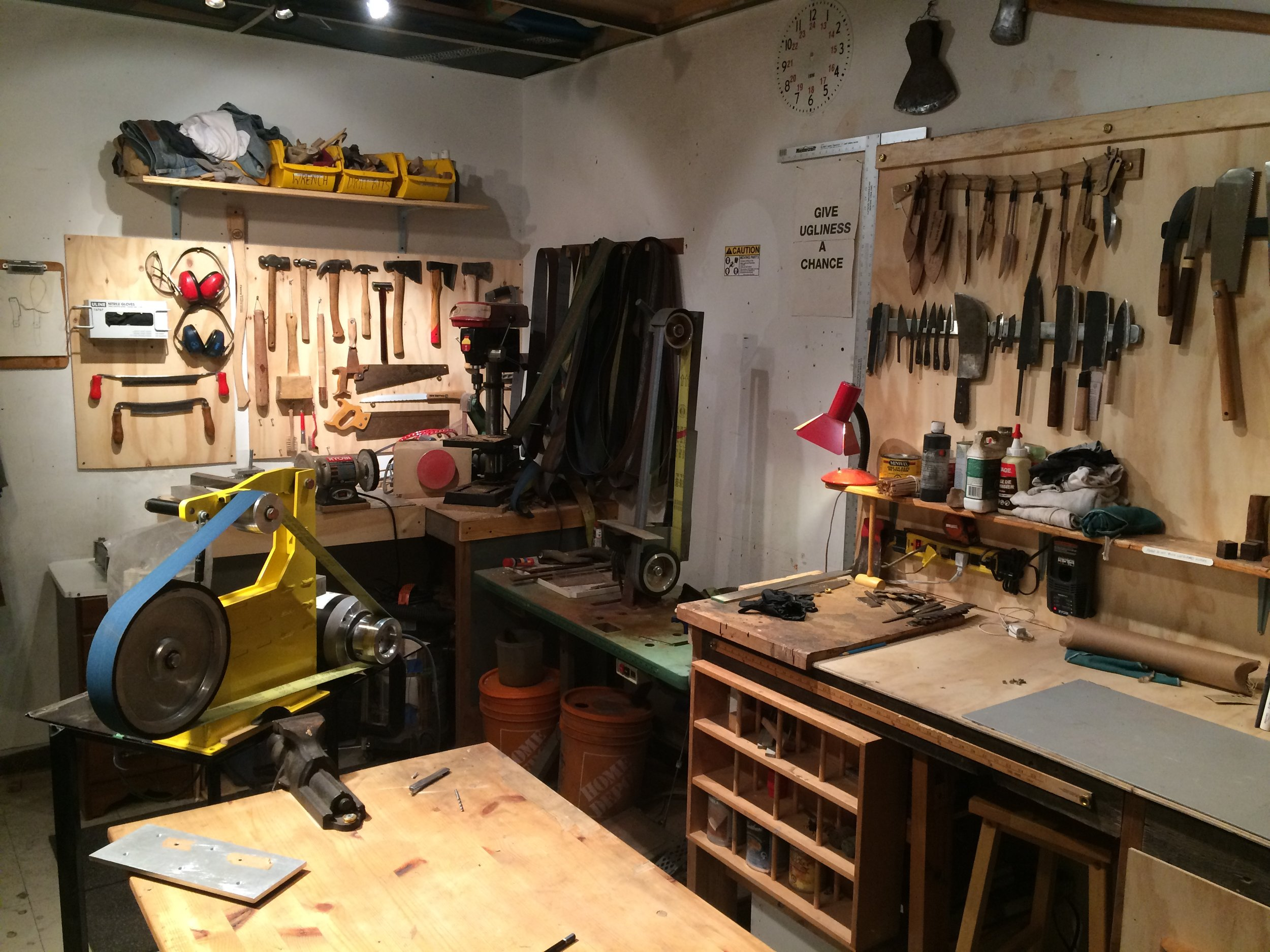 Our first workshop located in Chinatown on the edge of Kensington Market, Toronto.