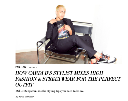 How Cadri B's Stylist Mixes High Fashion & Streetwear For The Perfect Outfit  COVETEUR
