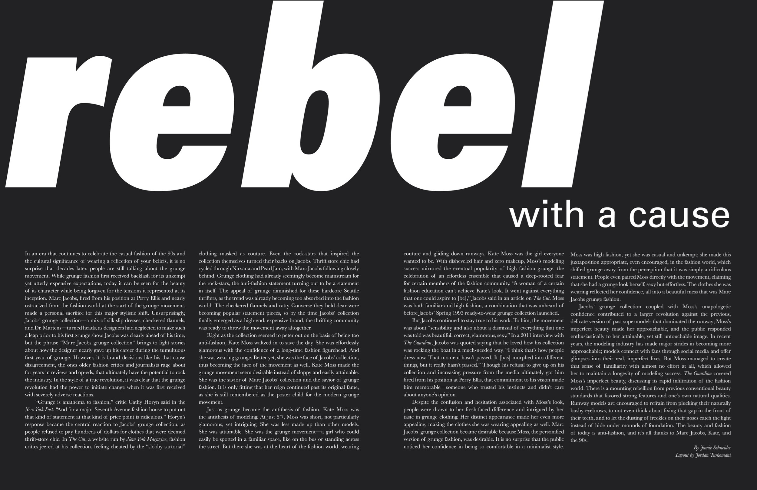 Rebel With a Cause  SHEI Magazine