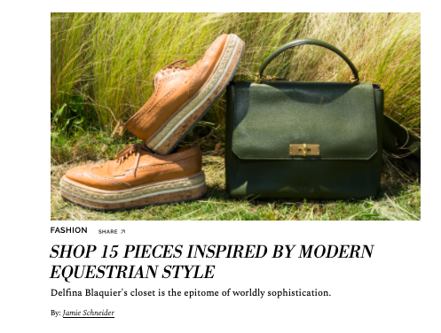 Shop 15 Pieces Inspired By Modern, Equestrian Style  COVETEUR