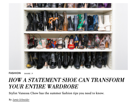 How A Statement Shoe Can Transform Your Entire Wardrobe  COVETEUR