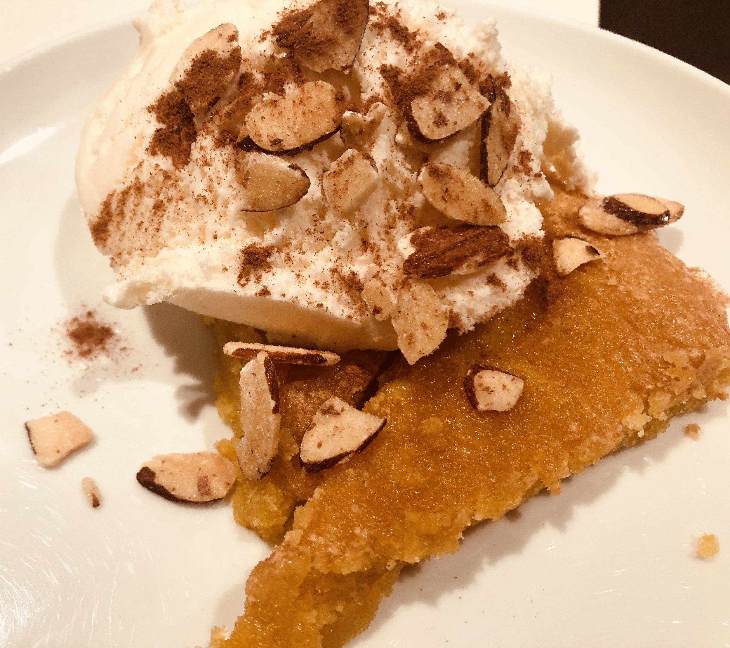 Mallorcan Almond Cake:   Click for recipe