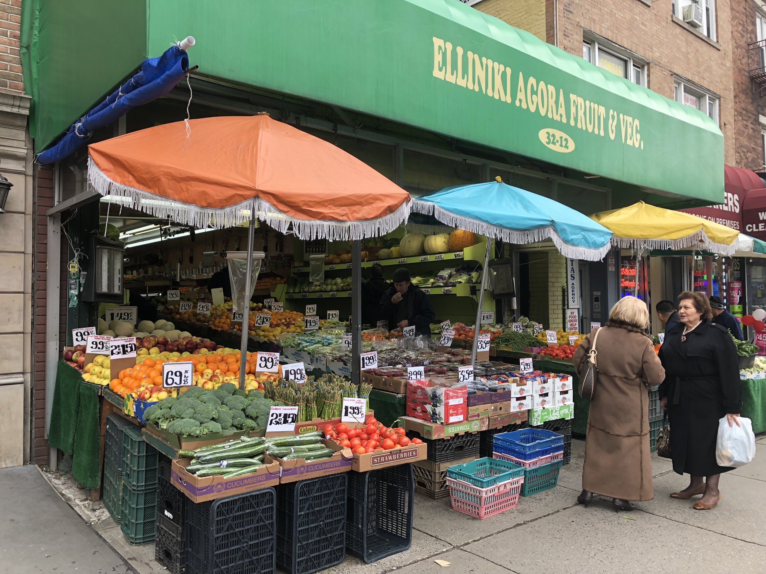 """This is where I buy my vegetables. When I told the cashier that her produce was so much better than the grocery store's she said, """"But you don't shop at the grocery store."""" I have always dreamed of being remembered by my produce stand cashier, and my time has finally come."""