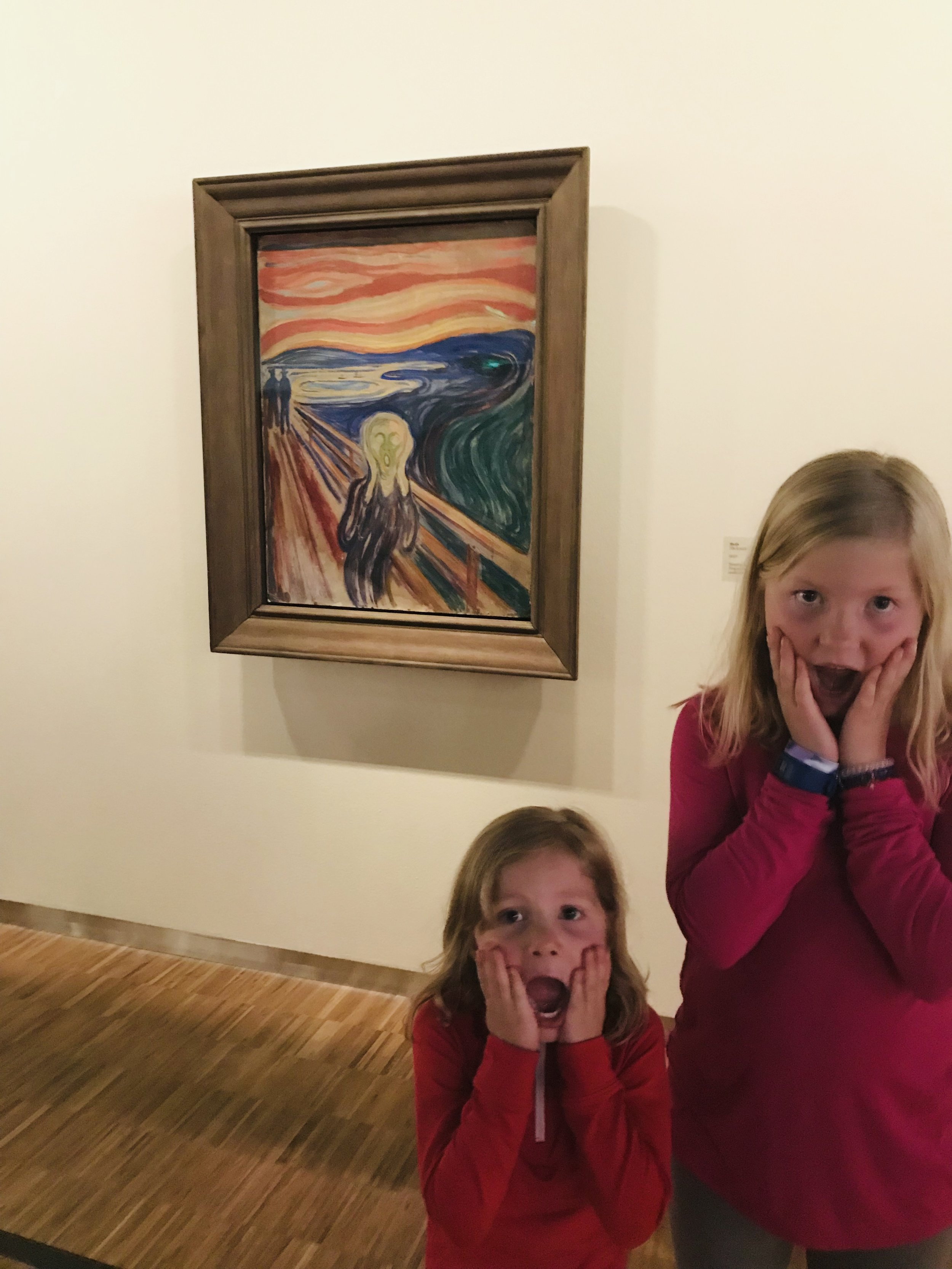 First Day In Oslo Norway Highlight Munch Museet Family Vagabonders