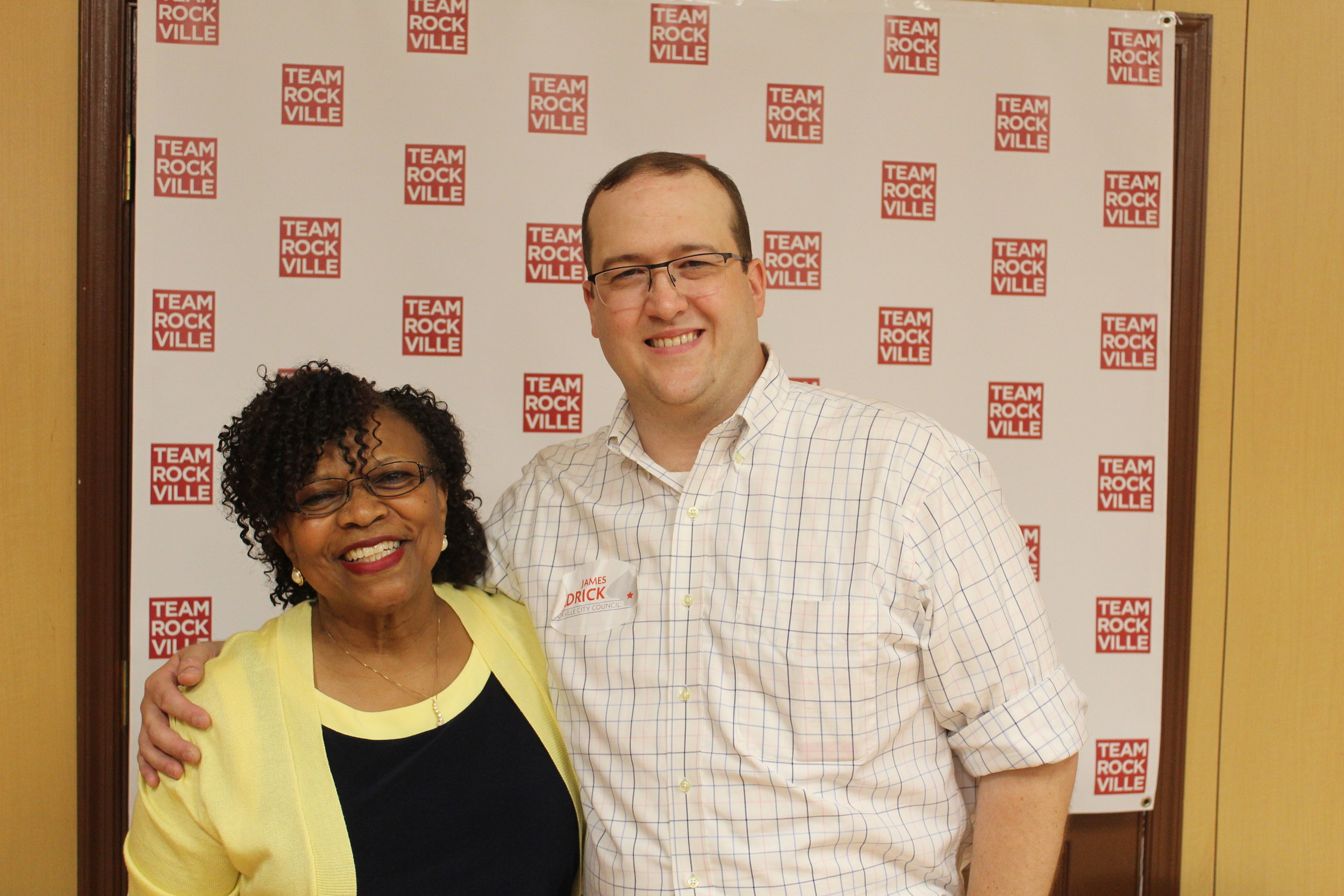 Me with Rockville's next Mayor!