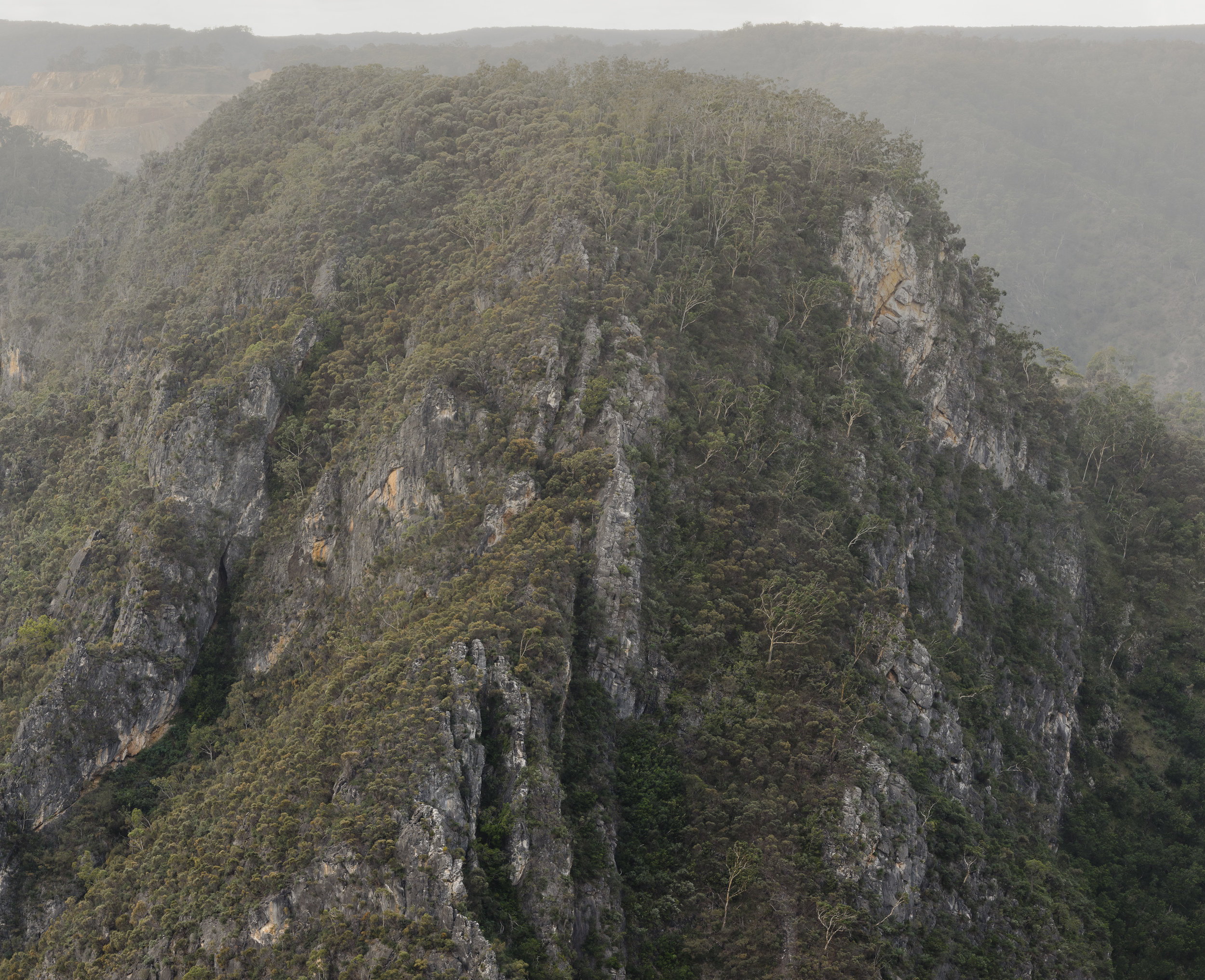 The Lookdown, Bungonia (after Fan K'uan), diptych.