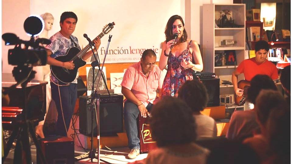 Golpe e' Tierra, concierto en Función Lenguaje, Madrid