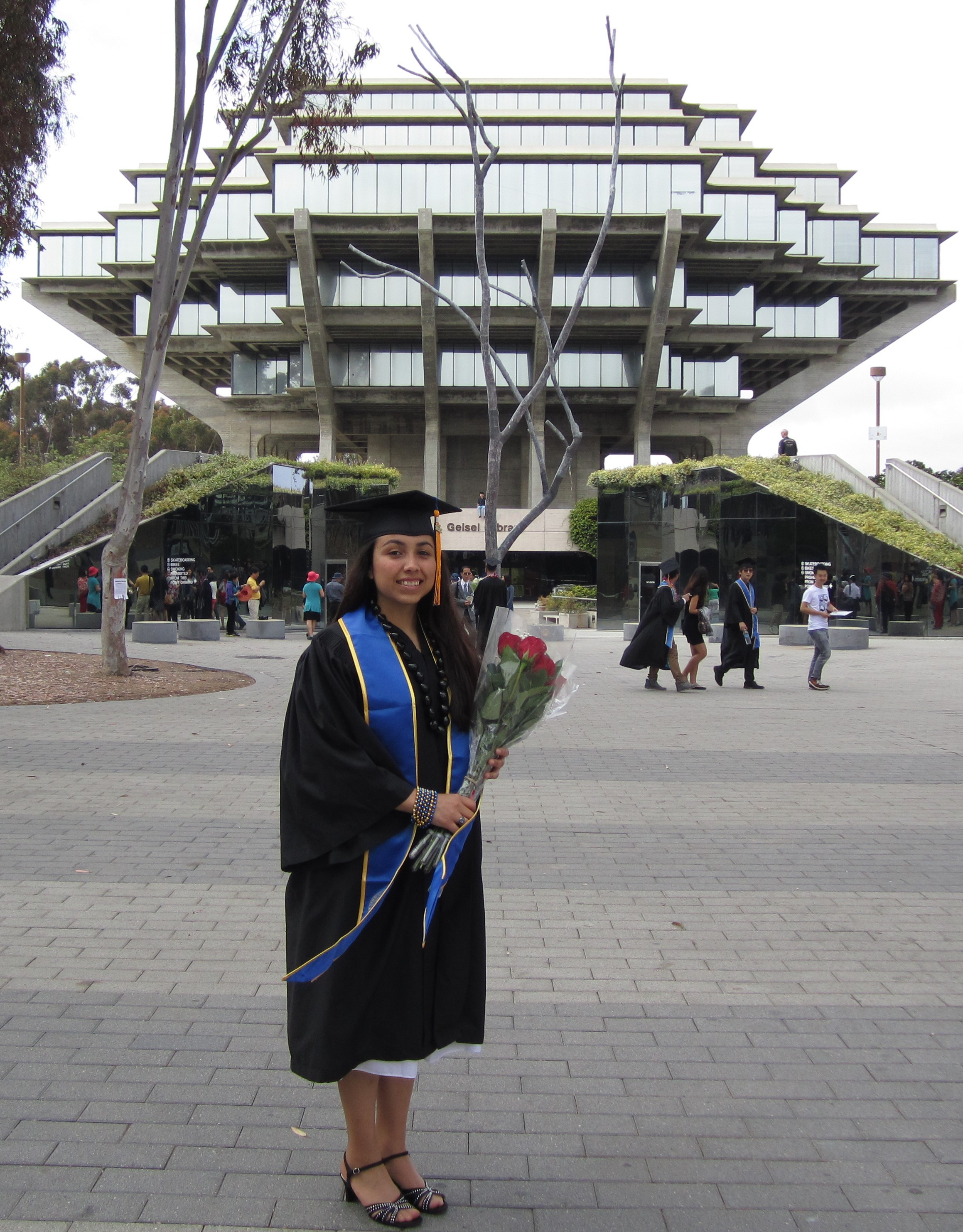 Graduated from UCSD