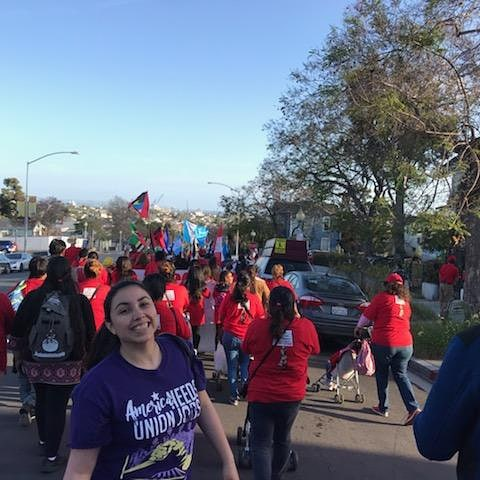 May Day March to Barrio Logan